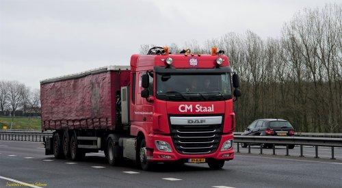Foto van een DAF XF Euro 6, opgebouwd als zeilenwagen.. Geplaatst door pierius-van-solkema op 08-04-2020 om 20:33:21, op TractorFan.nl - de nummer 1 tractor foto website.
