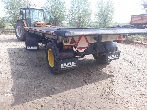 DAF aanhangwagen van John-Renault