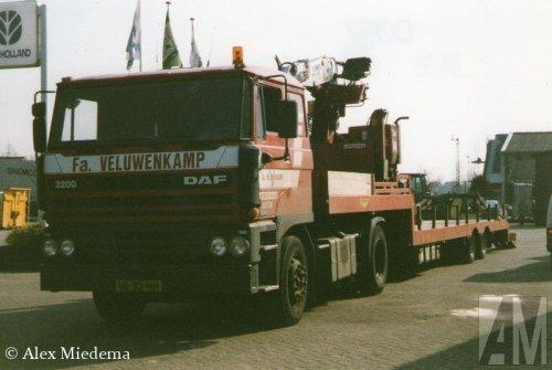 DAF 3200 van Alex Miedema