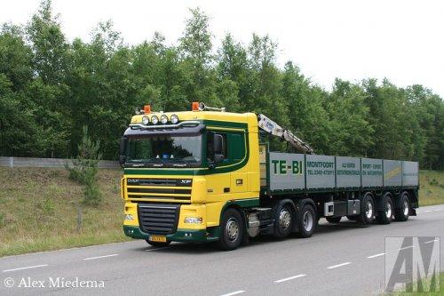 DAF XF105 van Alex Miedema