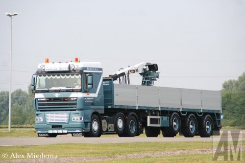 DAF XF95 van Alex Miedema