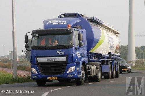 Foto van een DAF CF Euro 6, opgebouwd voor bulktransport.. Geplaatst door Alex Miedema op 16-09-2014 om 13:23:41, op TractorFan.nl - de nummer 1 tractor foto website.