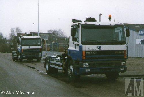 DAF 65CF van Alex Miedema