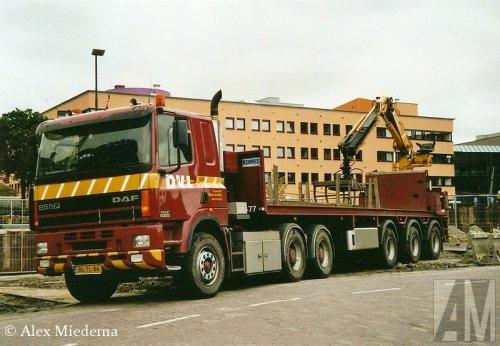 DAF 85CF van Alex Miedema