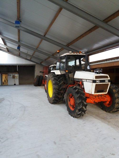 Foto van een David Brown 1690 aan het poseren. Geplaatst door wilbert-van-de-streek op 08-11-2019 om 20:10:07, op TractorFan.nl - de nummer 1 tractor foto website.