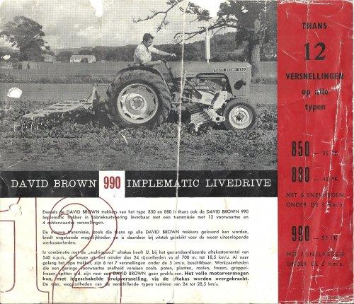 David Brown Folder van akkermopet