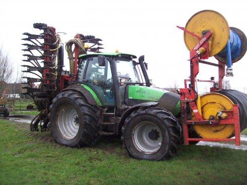 Deutz-Fahr Agrotron TTV 1145 van international 633