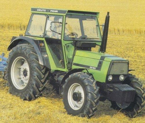 Deutz-Fahr DX 80 van arian