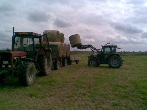 Deutz-Fahr Agrofarm 100 van ssweers