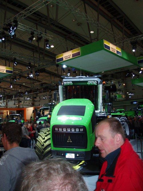 Deutz-Fahr Agro XXL 1630 van IH power in dk