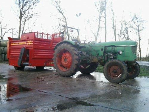 Deutz D4005 van argenterio