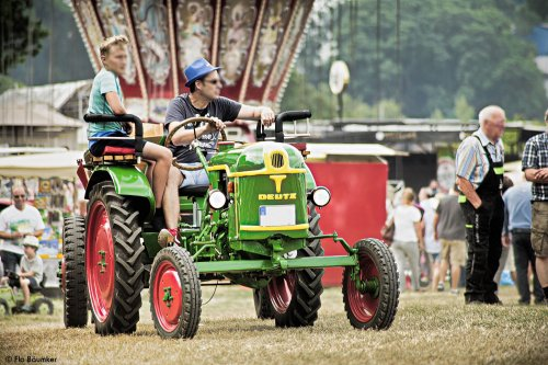 Foto van een Deutz F1L612. Geplaatst door Florian op 09-08-2017 om 20:12:00, op TractorFan.nl - de nummer 1 tractor foto website.