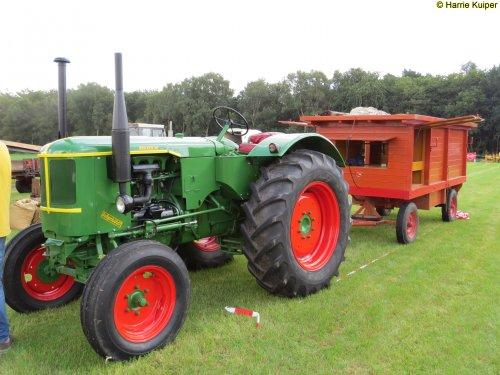 Foto van een Deutz F3L514  ,oogstdag Oud Leusen 02-09-2017. Geplaatst door oldtimergek op 02-09-2017 om 22:43:25, op TractorFan.nl - de nummer 1 tractor foto website.