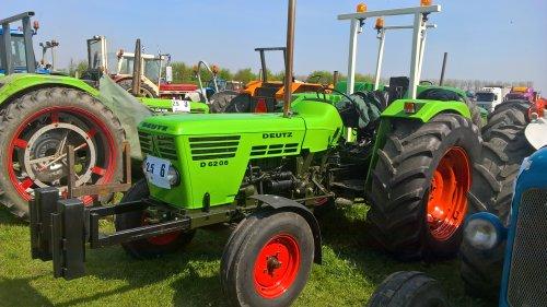 Foto van een Deutz D6206. Geplaatst door manus op 22-04-2018 om 13:56:00, op TractorFan.nl - de nummer 1 tractor foto website.