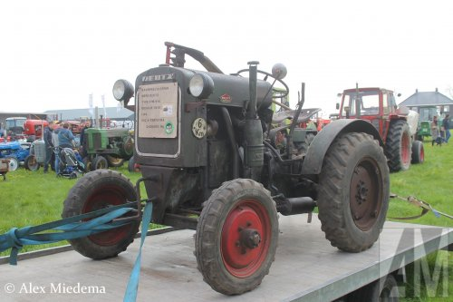 Foto van een Deutz F1M414. Geplaatst door Alex Miedema op 30-04-2018 om 17:32:27, op TractorFan.nl - de nummer 1 tractor foto website.