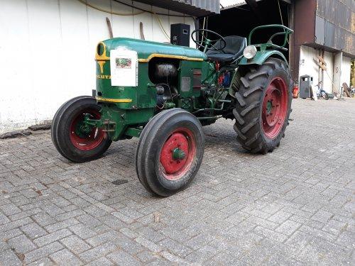Foto van een Deutz F2L612, bij BOT Almere.. Geplaatst door Kramer U800 op 17-06-2018 om 09:51:38, op TractorFan.nl - de nummer 1 tractor foto website.