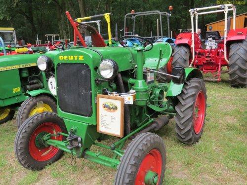 Foto van een Deutz F1M414   , oldtimerdag Itterbeck 17-06-2018. Geplaatst door oldtimergek op 04-07-2018 om 15:53:16, op TractorFan.nl - de nummer 1 tractor foto website.