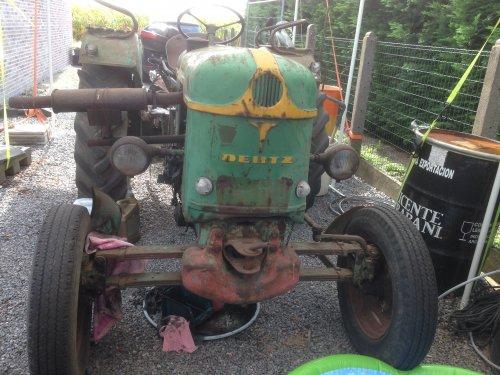 Foto van een Deutz  F2L 612 / F2L 712. Geplaatst door Peeters K op 30-08-2018 om 17:39:54, op TractorFan.nl - de nummer 1 tractor foto website.