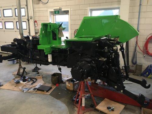 Foto van een Deutz DX 140. Geplaatst door deutz 13006 op 04-02-2019 om 22:59:24, op TractorFan.nl - de nummer 1 tractor foto website.