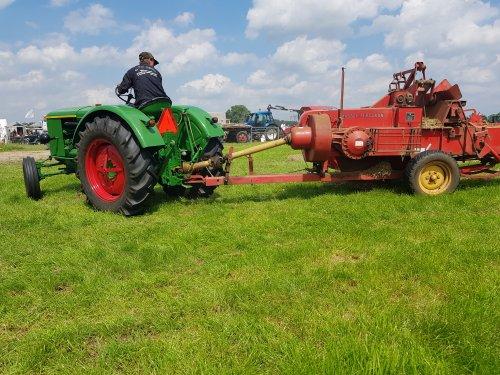 Weet niet of het een D25 is helaas. Maar dit was op de landbouwdag van de Lange slag afgelopen zaterdag in nieuwland.