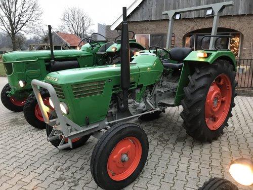 Foto van een Deutz D5006. Geplaatst door Wigger op 01-12-2019 om 20:16:08, op TractorFan.nl - de nummer 1 tractor foto website.