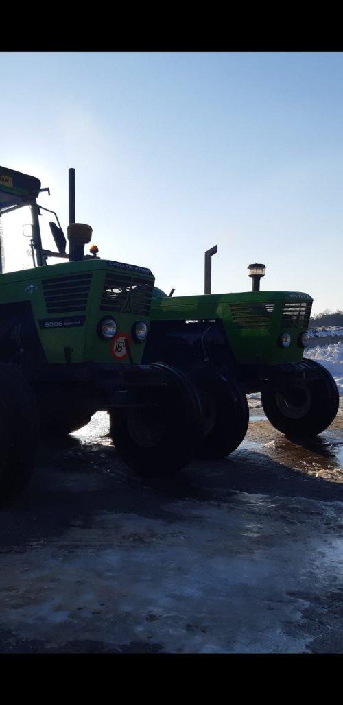 Foto van een Deutz D8006. Geplaatst door Agraservice Meulenkamp op 12-02-2021 om 23:29:20, met 3 reacties.
