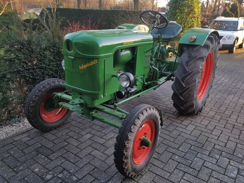 Deutz F2L612 van Oldtimer-fan