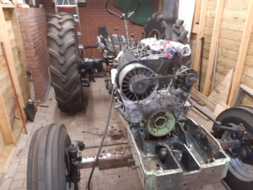 Deutz D5206 van bob de bouwer