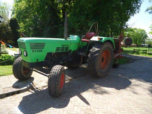 Foto van een Deutz D7206 bij oldtimer rit Altena (DR). Geplaatst door MF65 op 24-05-2014 om 22:30:22, op TractorFan.nl - de nummer 1 tractor foto website.