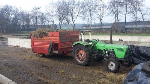 Foto van een Deutz D5506. Geplaatst door majoor85 op 14-02-2016 om 13:47:02, op TractorFan.nl - de nummer 1 tractor foto website.