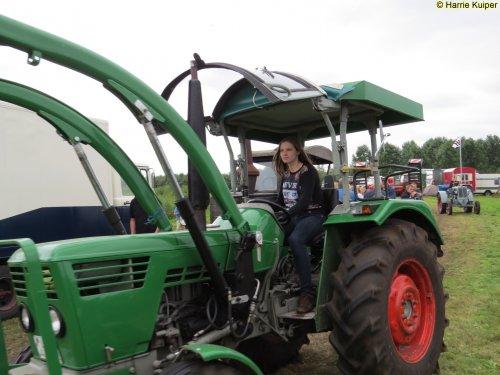 Foto van een Deutz Lady , oldtimerweekend 13-08-2016 Roswinkel. Geplaatst door oldtimergek op 22-08-2016 om 12:38:01, op TractorFan.nl - de nummer 1 tractor foto website.