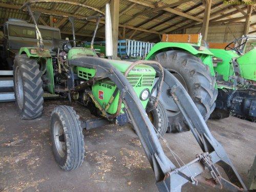 Foto van een Deutz D4007 , is een D4006. Geplaatst door oldtimergek op 30-09-2016 om 21:39:30, op TractorFan.nl - de nummer 1 tractor foto website.