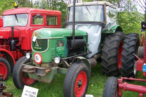 Deutz D80 tijden de Feldtage in Nordhorn 2008. Geplaatst door Griffioen op 08-10-2016 om 22:39:36, op TractorFan.nl - de nummer 1 tractor foto website.