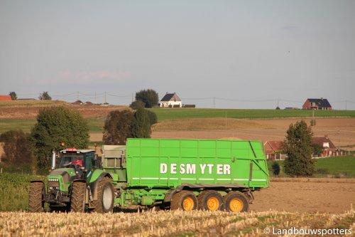 Loon- en grondwerken Desmyter. Geplaatst door tractorfreek op 23-02-2017 om 20:18:10, op TractorFan.nl - de nummer 1 tractor foto website.