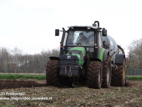 Deutz-Fahr Agrotron 108 van JohanNunspeetElspeet