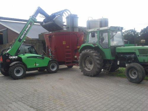 Deutz-Fahr Agrovector van Wouterdeutz