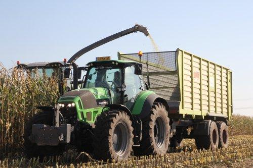 Deutz-Fahr Agrotron TTV 7250, foto van Ernst-Jan