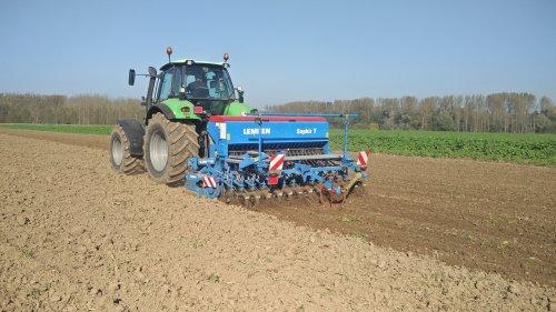 Foto van een Deutz-Fahr Agrotron 180.7. Geplaatst door Gert Agripassion op 28-10-2017 om 11:57:10, op TractorFan.nl - de nummer 1 tractor foto website.