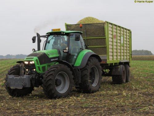 Deutz-Fahr Agrotron TTV 7250 van oldtimergek