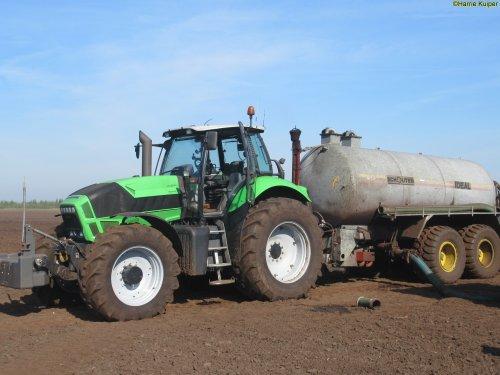 Foto van een Deutz-Fahr Agrotron X 720. Geplaatst door oldtimergek op 30-04-2018 om 16:05:44, op TractorFan.nl - de nummer 1 tractor foto website.