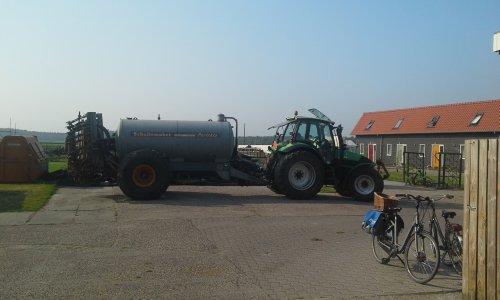 Foto van een Deutz-Fahr Agrotron 130. Geplaatst door dobbe op 01-06-2018 om 17:55:57, op TractorFan.nl - de nummer 1 tractor foto website.