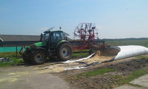 Foto van een Deutz-Fahr Agrotron 130. Geplaatst door dobbe op 08-06-2018 om 20:04:20, op TractorFan.nl - de nummer 1 tractor foto website.