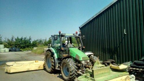 Deutz-Fahr Agrotron 85 van DaanDeutz