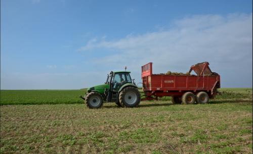 Deutz-Fahr Agrotron 165 van Theuny