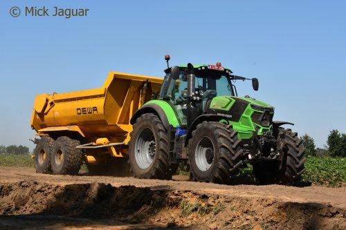 Deutz-Fahr Agrotron TTV 7250 van Mick Jaguar