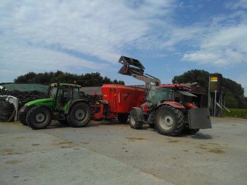 Deutz-Fahr Agroplus 95 van BEboer