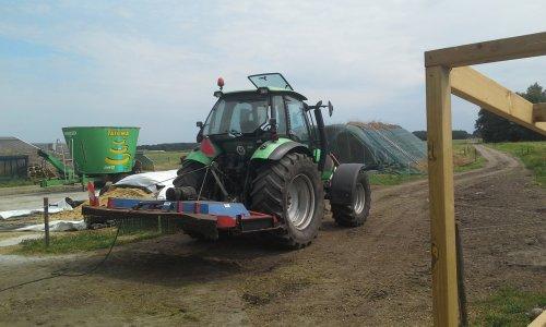 Foto van een Deutz-Fahr Agrotron 130. Geplaatst door dobbe op 16-07-2018 om 17:52:02, op TractorFan.nl - de nummer 1 tractor foto website.