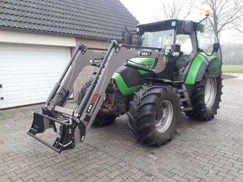 Foto van een Deutz-Fahr Agrotron K 90  Kleine upgrade voor de K :). Geplaatst door JoranK op 05-02-2019 om 13:22:14, met 16 reacties.