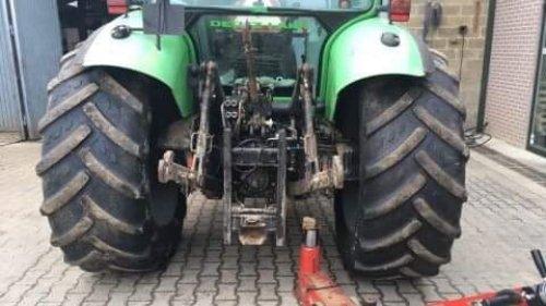 Foto van een Deutz-Fahr Agrotron 4.70  Zomerbandjes gemonteerd😁. Geplaatst door 645tt op 21-02-2019 om 17:53:41, op TractorFan.nl - de nummer 1 tractor foto website.