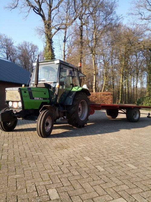 Foto van een Deutz-Fahr DX 3.10. Geplaatst door dx3.10 op 22-03-2019 om 20:37:34, op TractorFan.nl - de nummer 1 tractor foto website.